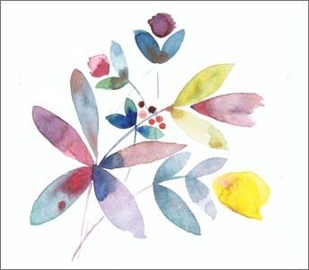 Fantastical flower paintings