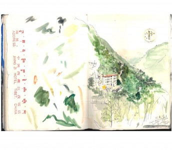 Sketchbooks: World Travels
