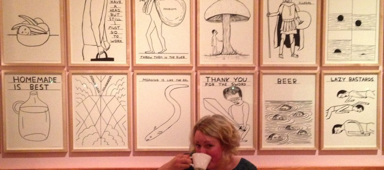 Tea with Shrigley